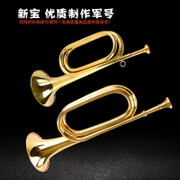 The new PO chongfenghao chongfenghao bugle instruments step number of exquisite craft high quality musical instruments copper trumpet bugle