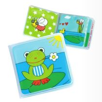 Spot German fashy Baby water bath book Frog Infant early Education bathroom bathing toys 3 months