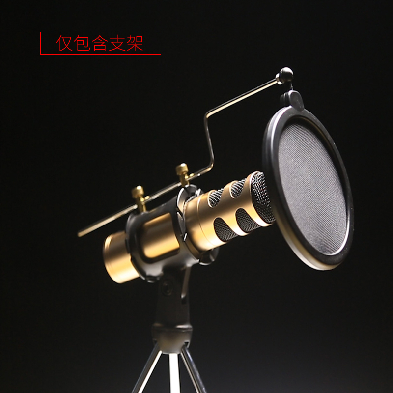 Microphone spray bracket Mobile phone sing karaoke condenser mic microphone stand Tripod MV recording special