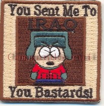 US Soldiers in Iraq Personality Cap South Park Kyle/Kyle Badge/Armband Velcro