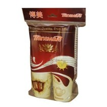 American Merchandise Paper cup (Western shading) thickened 250ml (9 oz) 50 disposable paper cups