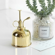 State Life British retro style brass gold spray bottle export British metal watering pot watering sprayer