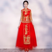 Chinese thin style Chinese style toasting clothes