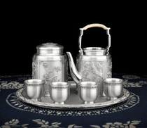Authentic Royal Sanskrit poetry, Thailand tin ware, tin plate tea set business, business promotion, birthday crafts.