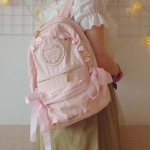 New-in In stock Japan Style Sweet lolita Girly Girl backpack less Women  shoulder bag 02ae608ee69d0