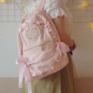 96858449c185 New-in In stock Japan Style Sweet lolita Girly Girl backpack less Women  shoulder bag