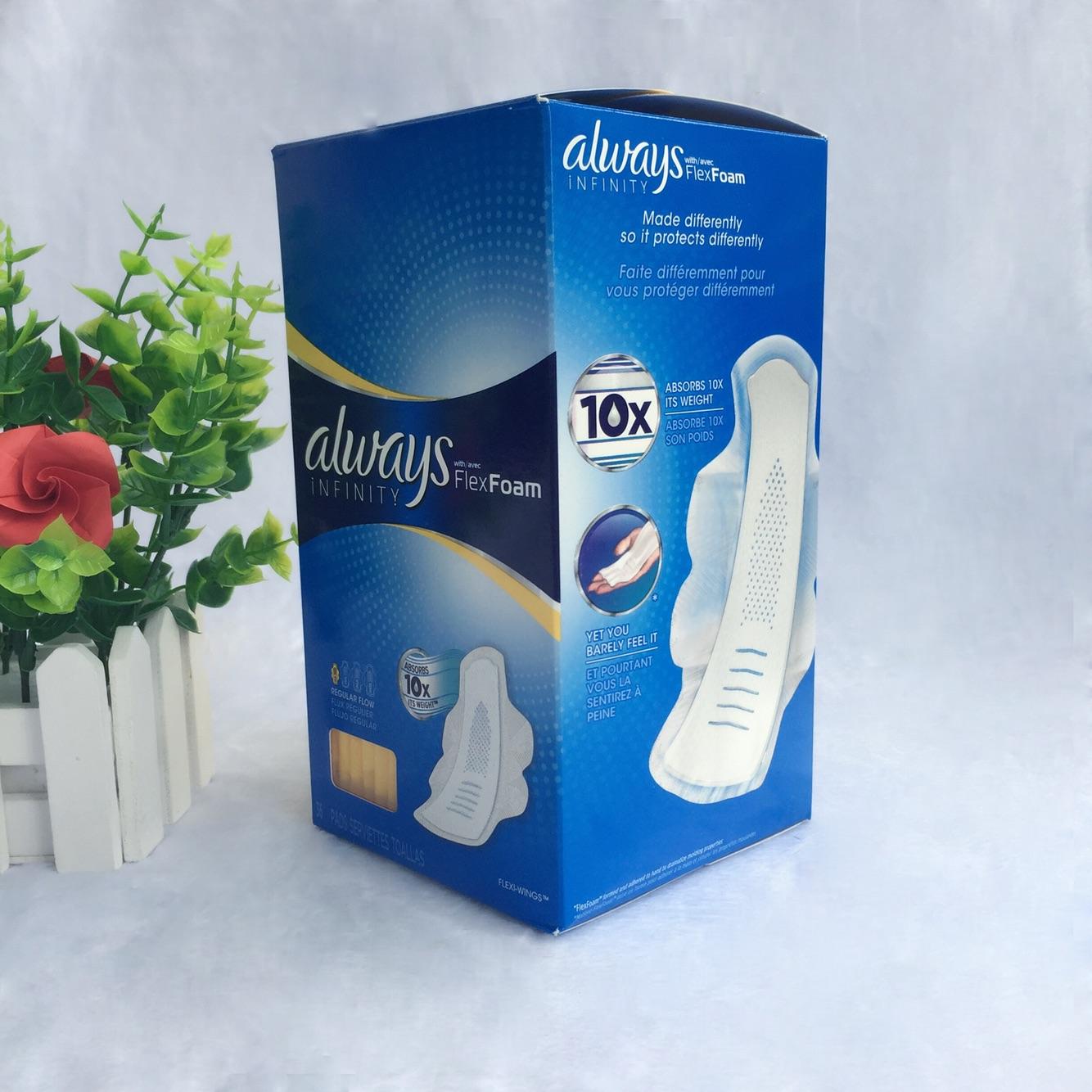 凑单品:always 4滴水 带护翼日用卫生巾 14片 €3.67(约¥28.92) 时尚 第1张