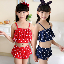 Child swimsuit girls conjoined cute Princess girls swim hooded clothing sexy swimwear