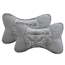 Automotive headrest cassia di rock neck health pillow winter car loaded with neck velveteen cushion pillow pair