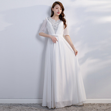 Chorus Dress Female Long Skirt 2009 New Chorus Dress Female Long Dress Elegant Slim