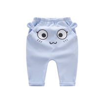 Baby boom spring men thin 0-1 a 3 years and 5 months baby open crotch PP6 spring wear female 9