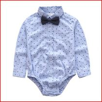 Shirt tie collar shirt baby boys cotton spring piece symbol 0-1 6 babies and children one year old and thin