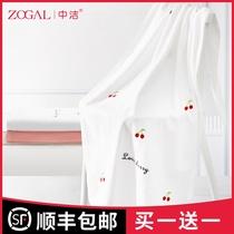 Чжунцзе полотенце для ванн женщины чистый хлопок не теряет волос абсорбентных бытовых ультра-мягких детей быстро сухой